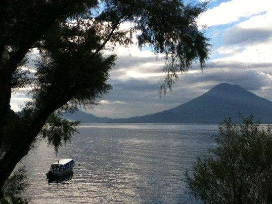 Los Elementos Adventure Center: On a walk near Lee's home on Lake Atitlan