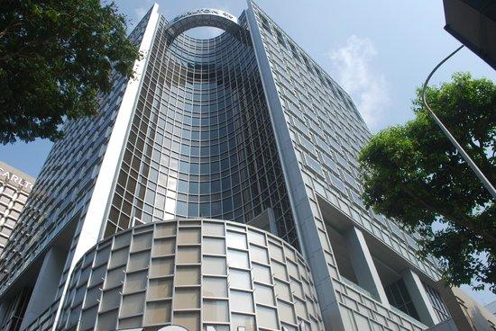 Carlton Hotel Singapore : exterior view