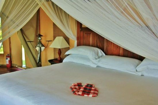 Olare Mara Kempinski Masai Mara: No chilly nights ..