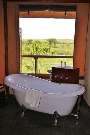 Olare Mara Kempinski Masai Mara: View to Masai Mara National Reserve