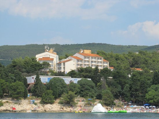 Hotel Miramar: Вид отеля с моря