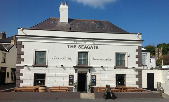 ‪The Seagate Hotel Appledore North Devon Restaurant‬