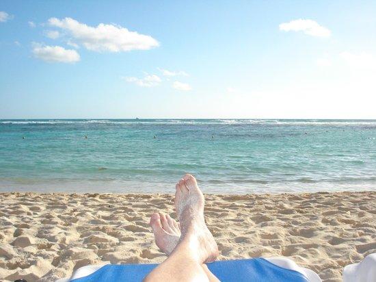 Grand Bahia Principe Coba: Beach view