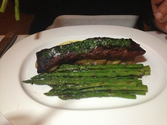 The Odeon : My friend's Hanger Steak
