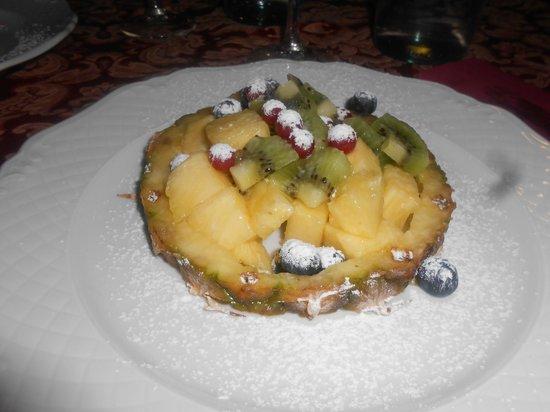 Fiordigigli: frutta della cena