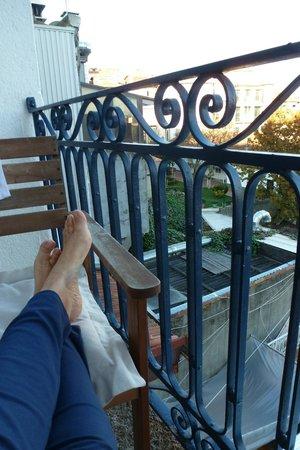 Oporto House: balcon de la habitacion