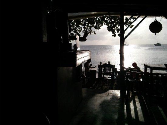 The Sunset Shack Cafe: sunset