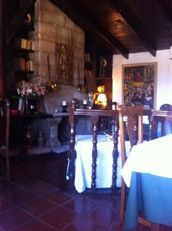 Fonda El Postillon The Dining Room You Can Eat Outside If Prefer