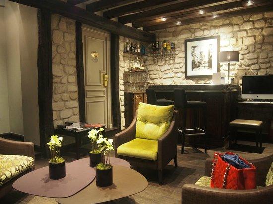 Hotel Duquesne Eiffel: cosy