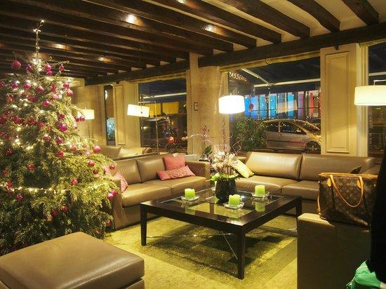Hotel Duquesne Eiffel : reception areas