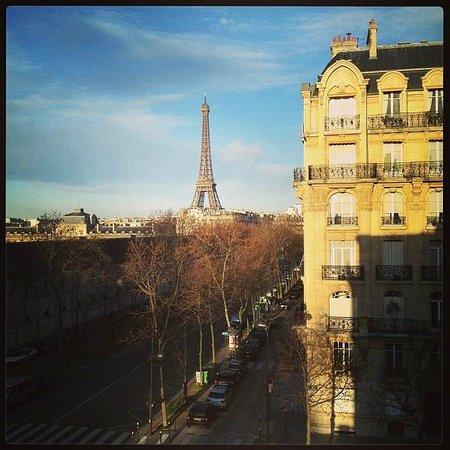 Hotel Duquesne Eiffel : excellent view