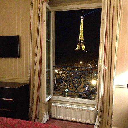 Hotel Duquesne Eiffel : view