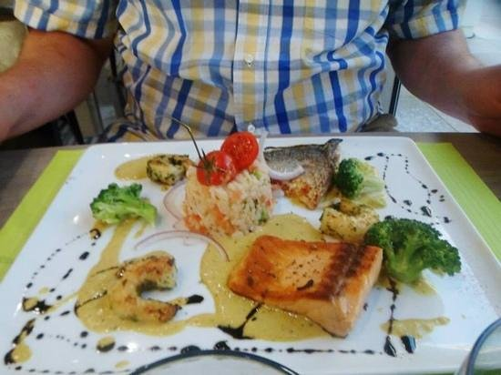 Holiday Inn Toulon City Centre : dinner