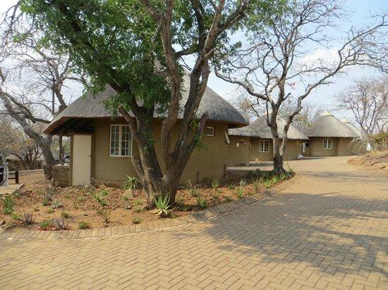 Olifants Rest Camp: Vue sur les rondavelles