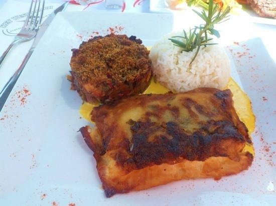 St. Tropez Harbor : this cod was amazing