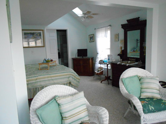 Lake Valley Legends Bed and Breakfast: Lakeview with vaulted ceilings & skylights