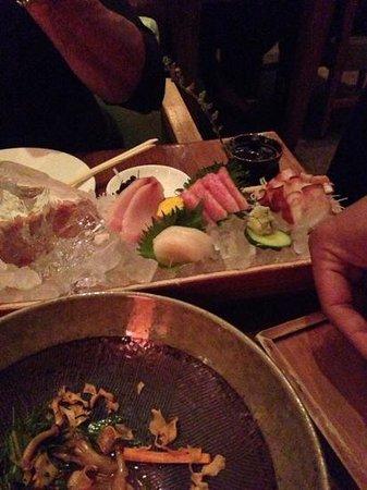 Zuma : sashimi