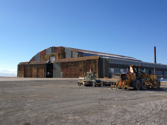 Historic Wendover Airfield: Enola Gay Hangar