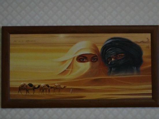 Hotel Gloria Palac : Creepy painting.
