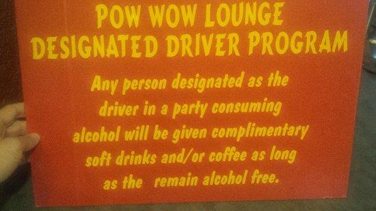 Pow Wow Restaurant & Lounge : What a Brilliant Idea