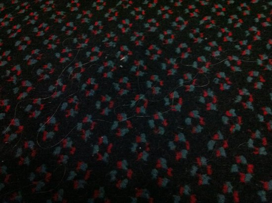 Kings Paget Hotel: Dirty carpet