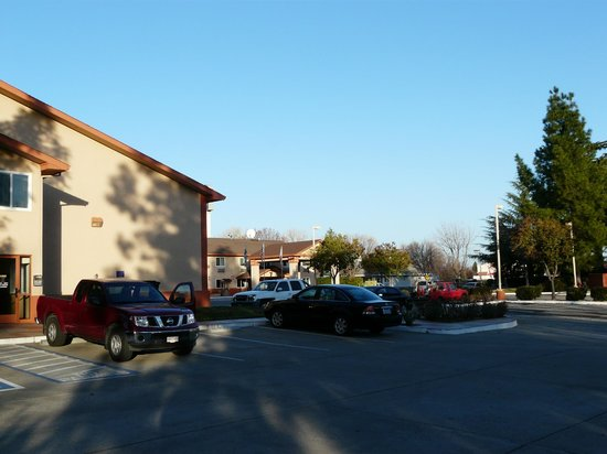 Best Western Antelope Inn & Suites: Blue sky morning