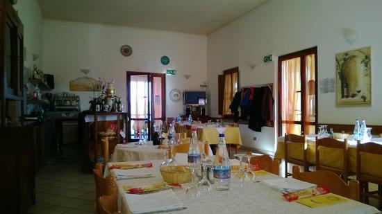 Agriturismo La Scalera: La sala