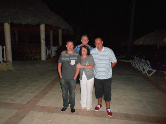 Grand Bahia Principe San Juan: the gang