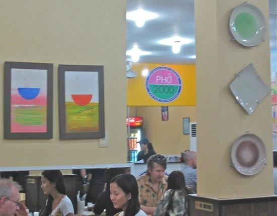 Pho 2000 : restaurant décor