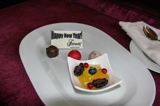 Fairmont Makati: sweet!