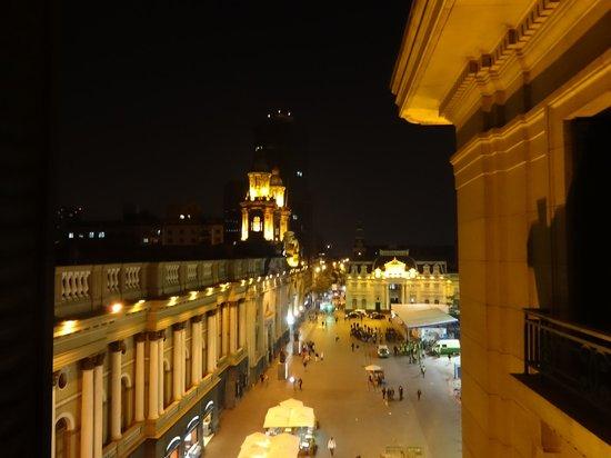 Plaza de Armas Hostel: Vista do quarto