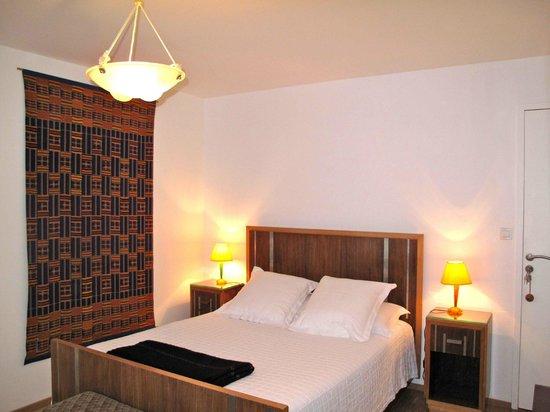 Les Terrasses de Kerangall : chambre palissandre