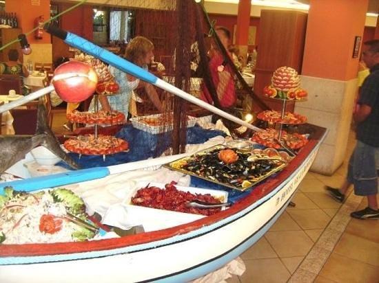 Ohtels Vil.la Romana: sea food