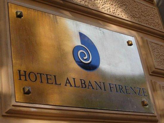 Hotel Albani Firenze: Hotel entrance
