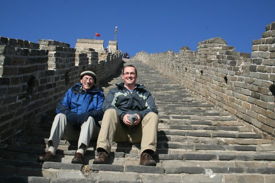 Beijing Private Tours By Jessie: Climbing the Great Wall - awesome