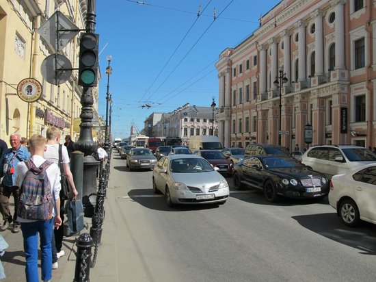 Literary Cafe: Nevsky Prospect, Sankt-Peterburg, Russia