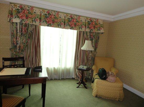The Ritz-Carlton, Santiago: Linda decoração, romântica