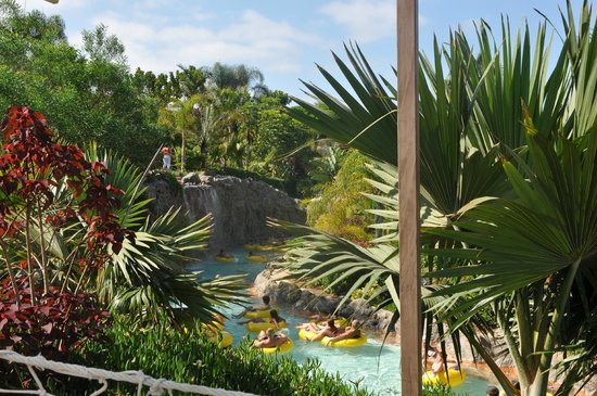 Siam Park: Аква парк утопает в зелени