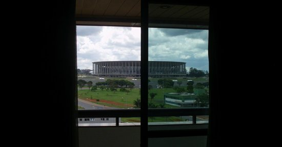 Mercure Brasilia Eixo: Vista do lado Oeste.