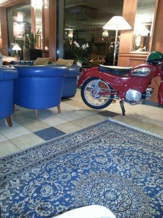 Grand Hotel Tiberio: Interni accoglienti