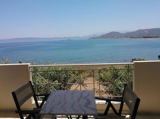 Balos Beach: Blick vom Balkon