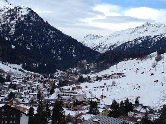 Hotel Garni Ernst Falch: View from my balcony