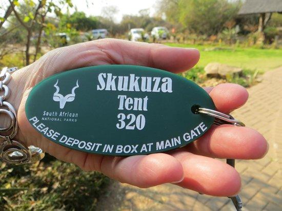 Skukuza Rest Camp: Notre tente