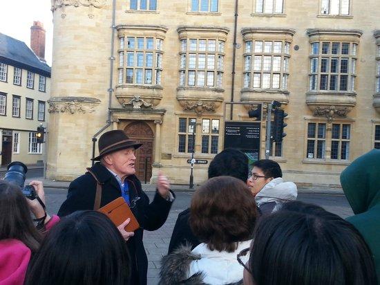 Experience Oxfordshire: }Nosso ótimo guia.