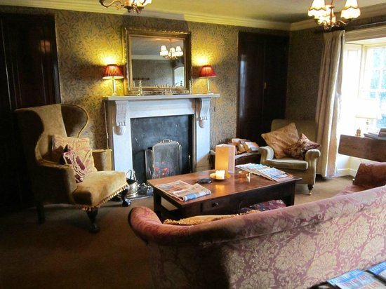 The Traddock: One of the Hotel Lounges - with open fire!