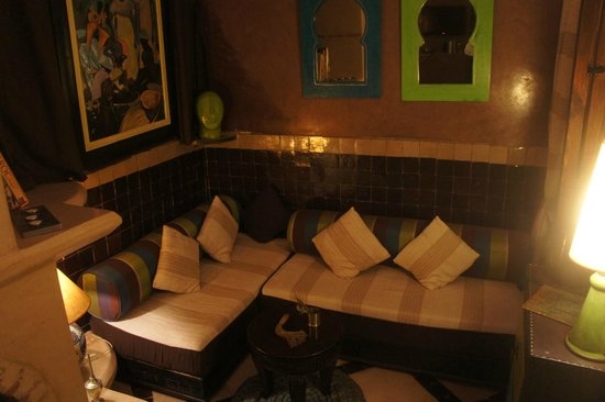 Riad Les Lauriers Blancs : Living room