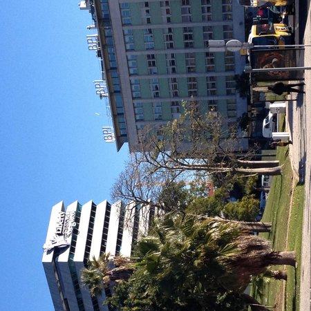 Proximidades do hotel excelsior em Lisboa.