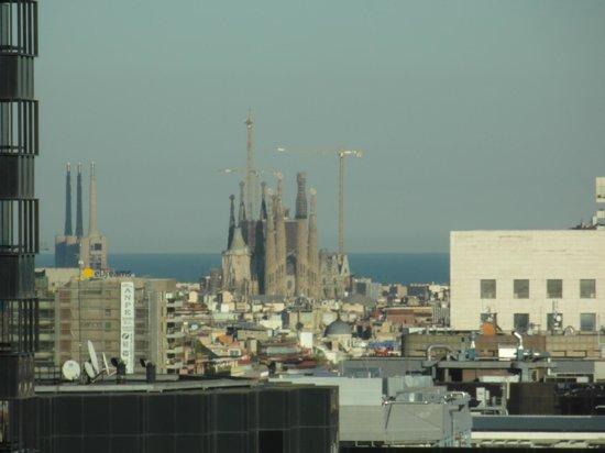 Gran Hotel Princesa Sofia : vista sulla Sagrada