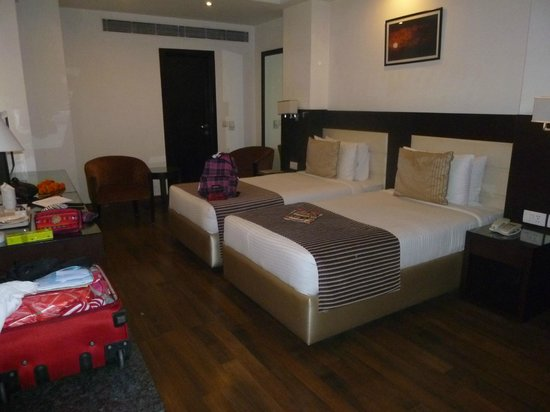 Hotel Africa Avenue: Chambre twin