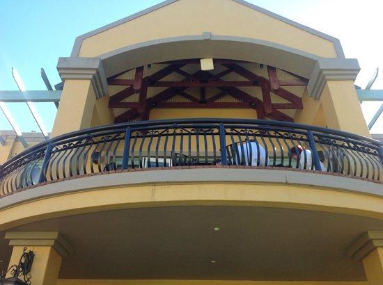 Franschhoek Country House & Villas : terrasse du PDJ